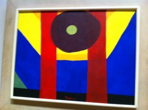 Arthur Dove, abstract art projects for kids
