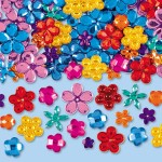 flower rhinestones, lakeshore learning