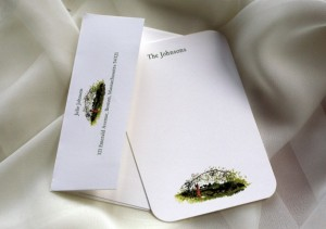Felix Doolittle personalized stationery