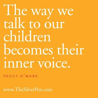 child's inner voice, the way you talk to your child becomes their inner voice