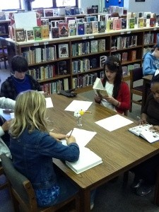 book tasting, getting kids reading
