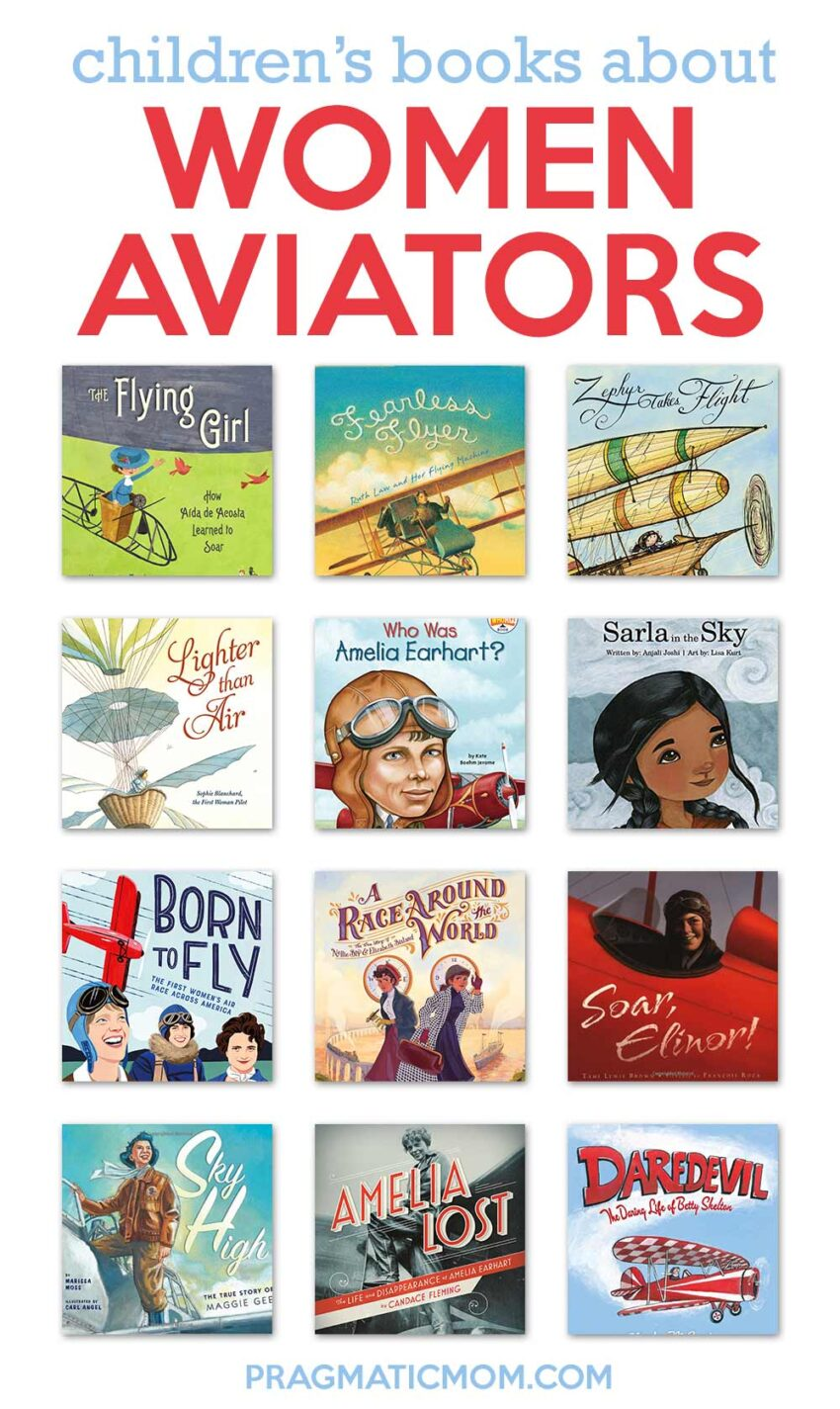 Children's Books about Women Aviators