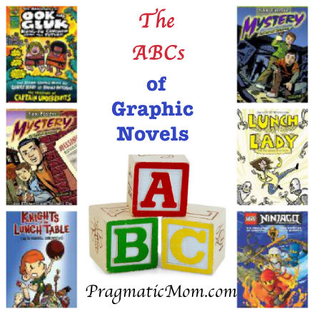 ABC of graphic novels, best graphic novels for preschool, best graphic novels for boys, best graphic novels for kids