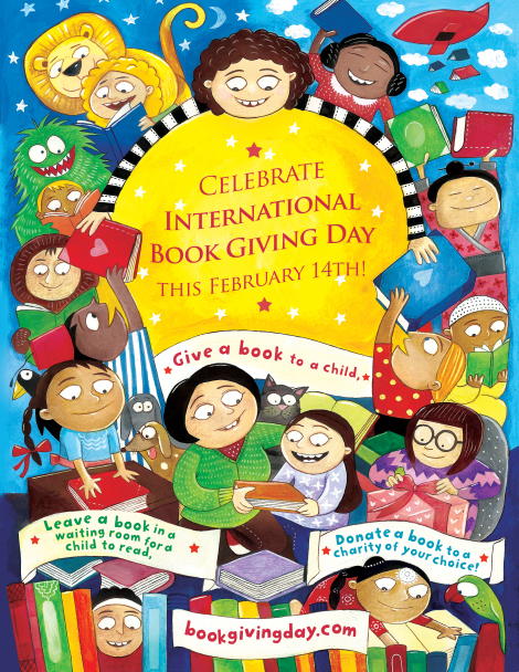 International Book Giving Day, Valentine's Day and Book Giving Day