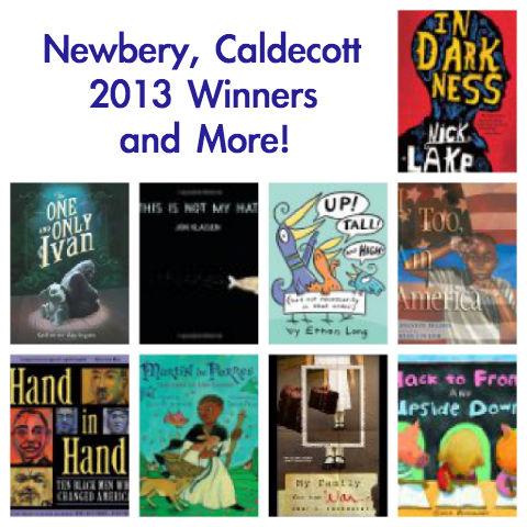 Newbery Medal 2013, Caldecott Medal 2013, Newbery winner, Caldecott Winner, Coretta Scott King
