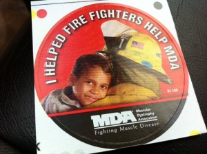 Firefighters for muscular distrophy
