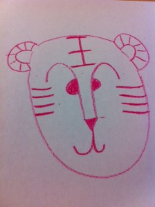 Grace Lin teaches how to draw a tiger