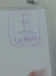 Grace Lin, wang power symbol
