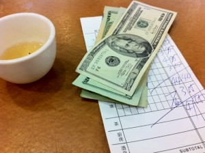 large tip for random acts of kindness, China Pearl, best Dim Sum restaurant Boston