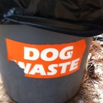 pick up dog poo at dog park, random acts of kindness