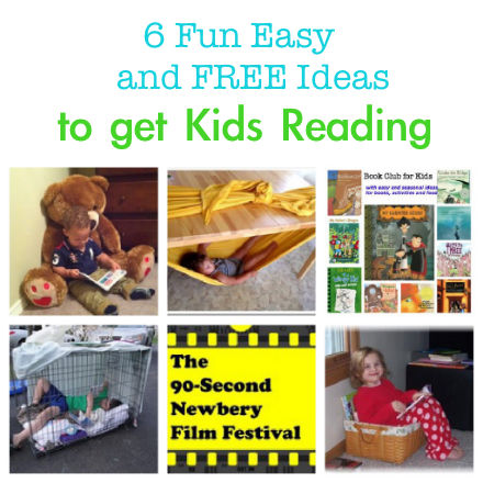 ideas to get kids reading