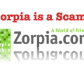 Zorpia, Zorpia is a scam, pfishing scam Zorpia
