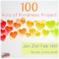 every day acts of kindness, 100 acts of kindness, easy everyday acts of kindness, random acts of kindness, RAOK,