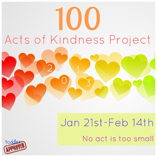 100 acts of kindness project, acts of kindness