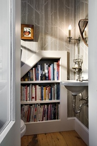 bath room home library