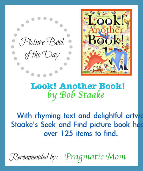 Look Another Book, Bob Staake, seek and find picture books, search and find picture books, seek and find, search and find