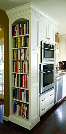 built-in-bookcase-kitchen