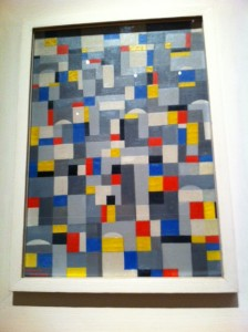 Mondrian art project for kids, abstract art project for kiids