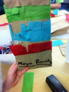 paper bag pinata craft for kids