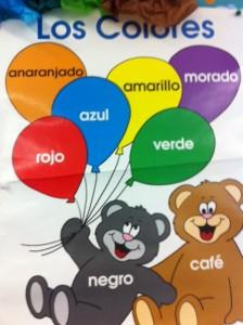 colors in Spanish, spanish for kids, 2nd grade Spanish