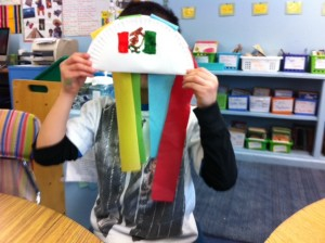 Mexico party, maraca craft for kids