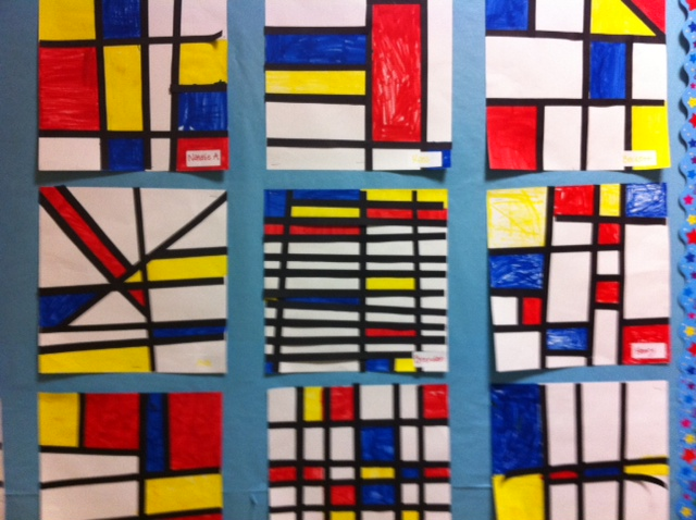 Mondrian music and art project for kids pragmaticmom for Arts and crafts classes nyc