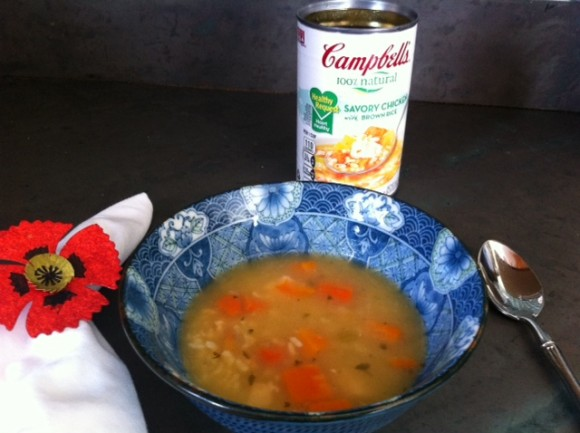 healthy heart month, Campbell's contest, canned soup