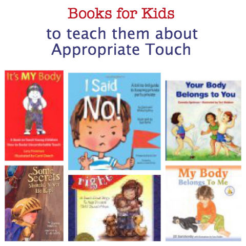 books for kids about appropriate touch, books for kids about safety, books for kids about sexual abuse