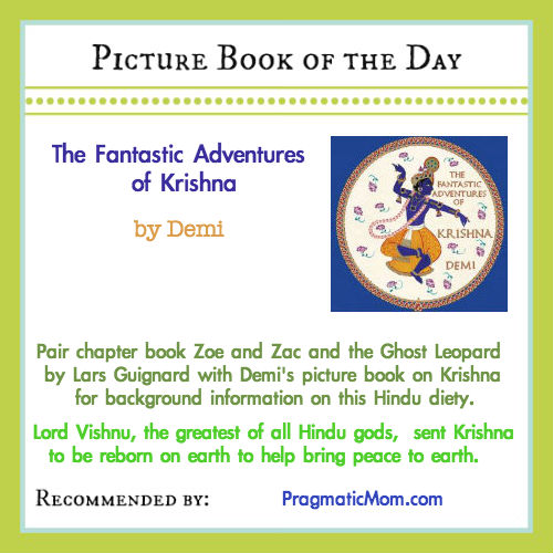 Krishna, Demi, Hindu religion books for kids, world religion books for kids, chapter books for kids on India
