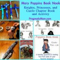 Mary Poppins Book Nook, chapter books for kids, knights princess chapter books, book club for kids,