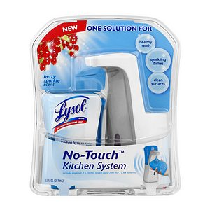 Lysol, Kid who touches everything contest, Lysol no touch system,
