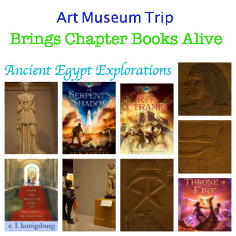 Ancient Egypt books for kids, museum trip bring books alive for kids, kids and reading, Kane Chronicles,