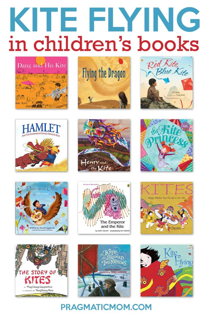 Kite Flying in Children's Books