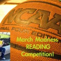 March Madness reading competition, school wide reading competition, school reading competition,