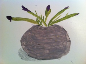 Irises, Irises painting, book club for Irises