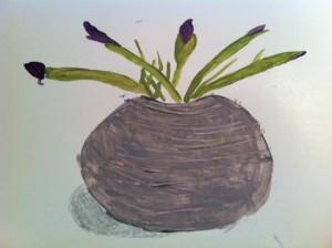 Irises, Irises painting, book club for Irises