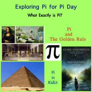 pi day, what is pi?, what is the number pi?, books on pi for kids, the golden rule and pi