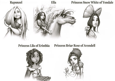 Hero's Guide to Saving Your Castle, which prince are you, which princess are you