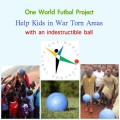 1 world football project, soccer for kids in war zones