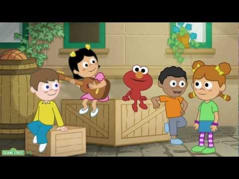 fun fun elmo, sesame street chinese, learn chinese, kids learn chinese