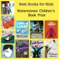 best books for kids, best children's book authors, best new books for kids, best chapter books for kids, Waterstones prize,
