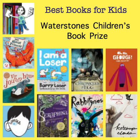 best books for kids, best children's book authors, best new books for kids, best chapter books for kids, Waterstones prize,