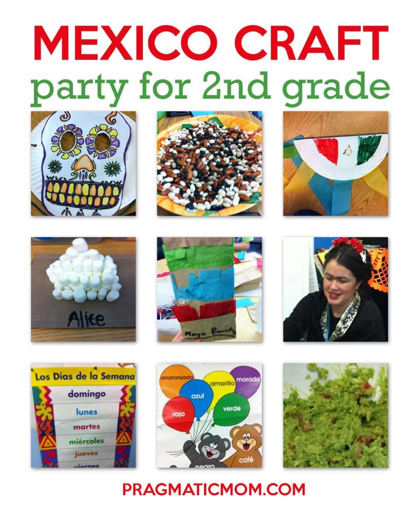 2nd Grade Mexico Craft Party