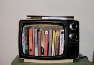 screen free week, no screens week, Random House Children's Books, books in old TV, books instead of TV,