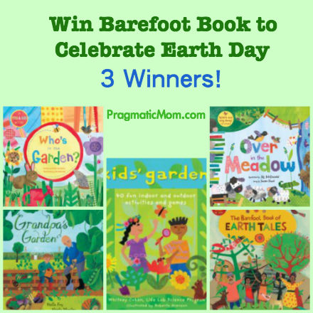 earth day giveaway for kids, earth day book giveaway for kids, barefoot books earth day giveaway