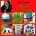 Mexico crafts for kids, Mexico party for kids, 2nd grade Mexico unit, 2nd Grade studies Mexico