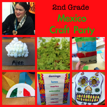 Mexico Day Party Crafts For Kids Pragmaticmom