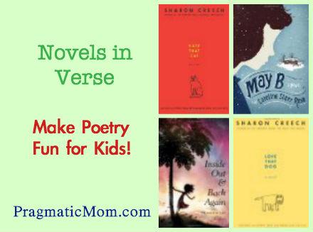 novels in verse for kids, 5th grade novels in verse, 4th grade novels in verse, 6th grade novels in verse, novels in verse for kids