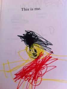 free kindergarten readiness printable, my book about me free printable, free keepsake book about me for preschool
