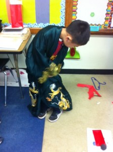 2nd grade China unit crafts, Chinese red envelope crafts